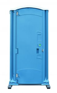 Deluxe Blue Portable Toilet