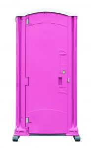 Deluxe Pink Portable Toilet