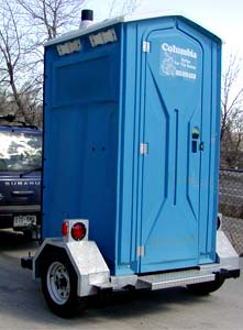 Portable Toilet Trailer Unit
