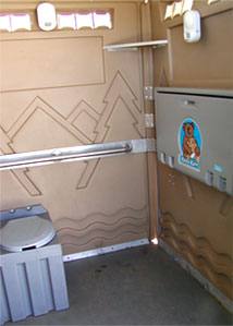 Inside the Wheelchair Unit