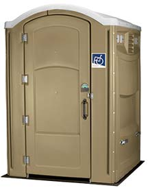 Wheelchair Accessible Portable Toilet