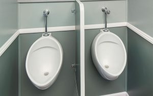 Portable Restroom Trailer Urinal